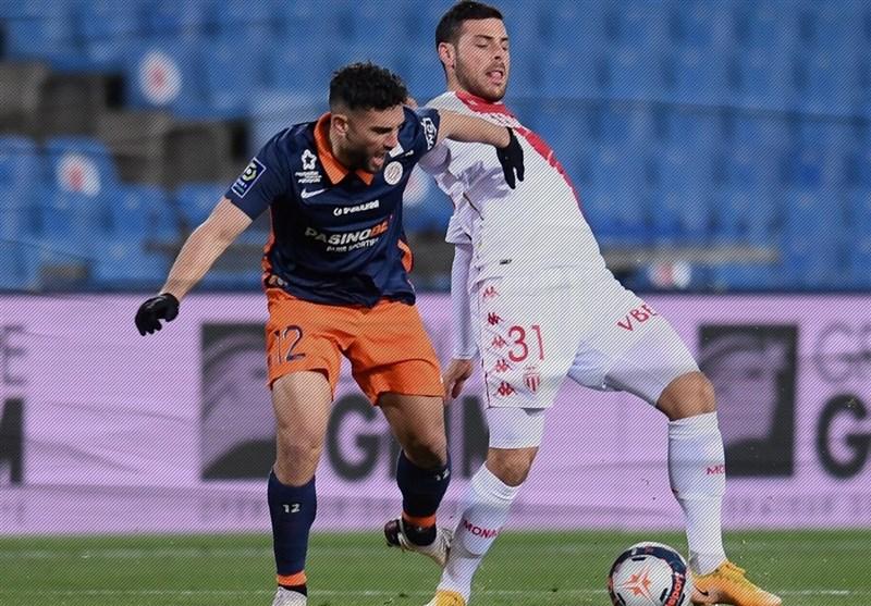 لوشامپیونه| پیروزی موناکو مقابل مونپلیه