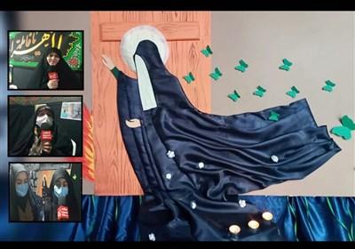 عرض ارادت سربازان فاطمی به حضرت زهرا(س) در گیلان + فیلم