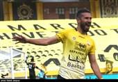 لیگ برتر فوتبال  برتری یک نیمهای سپاهان مقابل صنعت نفت