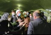 بازدید رئیس سازمان بازرسی کل کشور از قطار شهری مشهد مقدس به روایت تصاویر