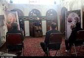 آیین عزاداری فاطمیه در حسینیه امینیهای قزوین به روایت تصاویر