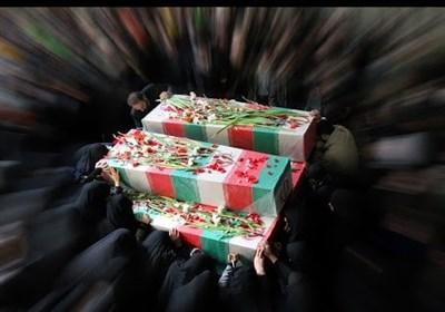 ایران اسلامی معطر به شمیم شهدا / تشییع پیکر شهدای گمنام در سالروز شهادت ام ابیها (س)