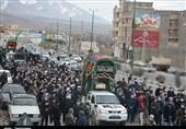 2 شهید گمنام در دماوند تشییع و تدفین شدند + تصاویر