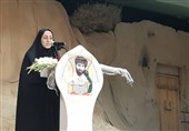 درددلهای 30 ساله دختر شهید تازه تفحصشده / روضه شهادت حضرت زهرا(س) دختر شهید نوروزی برای پدر + فیلم