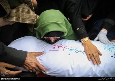 مادر شهید ناصر صدقی