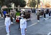 تشییع شهدای گمنام دفاع مقدس در وزارت دفاع