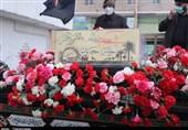 تشییع پیکر دو شهید گمنام در ساوجبلاغ به روایت تصویر
