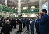 آیین عزاداری سالروز شهادت بانوی دوعالم در ورامین برگزار شد + تصاویر