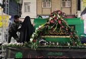 شام غریبان شهادت حضرت فاطمه زهرا (س) در پیشوا برگزار شد + تصاویر