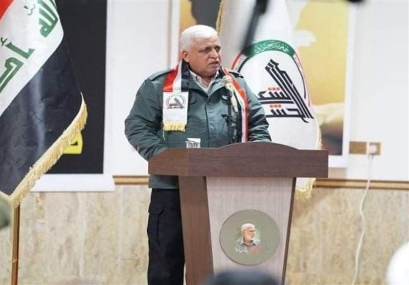 عراق  فالح الفیاض: مرجعیت نقشه راه شرایط کشور و مسیر حشد شعبی را مشخص کرده است
