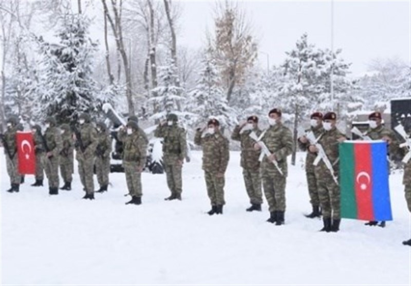 رزمایش زمستانی ترکیه و جمهوری آذربایجان
