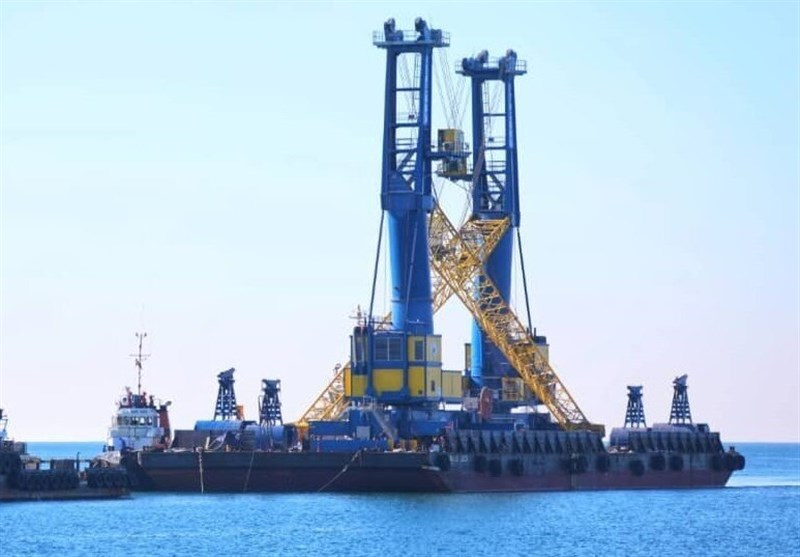 India Ships Another Batch of Cargo Handling Equipment to Chabahar