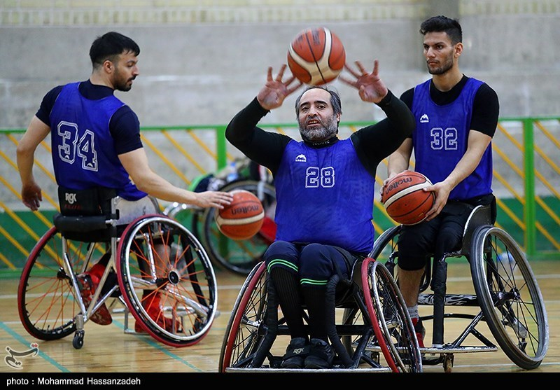 Iran Wheelchair Basketball Pooled with Holder USA at Tokyo 2020