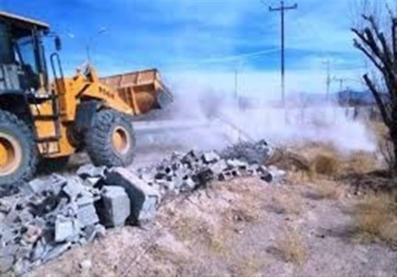 22هزار متر مربع اراضی دولتی در قشم رفع تصرف شد