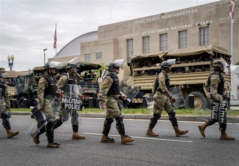 پنتاگون: بیش از 21 هزار نیروی گارد ملی در واشنگتن مستقر شدهاند