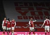 لیگ برتر انگلیس| آرسنال با غلبه بر نیوکاسل به نیمه بالای جدول رسید