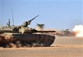 رزمایش ارتش الجزایر در مرزهای صحرای غربی و مغرب