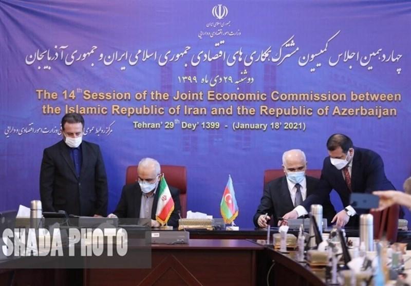 وزیر الاقتصاد الایرانی: مستعدون لاعادة اعمار مناطق جمهوریة اذربیجان