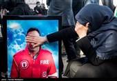 چهارمین سالگرد آتشنشانان شهید حادثه پلاسکو - بهشت زهرا(س)