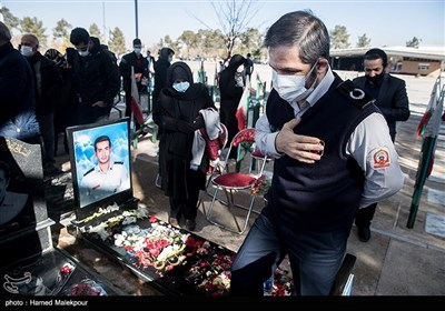 Service Held in Remembrance of Firefighters Killed in Tehran Plasco High-Rise Collapse