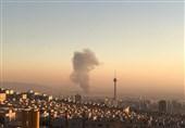 جزئیات آتشسوزی گسترده در باربری 12 هزار متری در خیابان شوش + فیلم و تصاویر