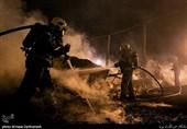 آتش سوزی در خیابان شوش