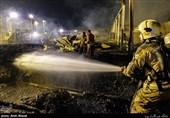 آتشسوزی خیابان مقدس اردبیلی بدون تلفات مهار شد