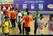 دیدار تیمهای فوتسال گیتیپسند اصفهان و مقاومت البرز به روایت تصویر
