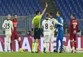 جام حذفی ایتالیا| رم با 2 اخراجی در وقتهای اضافه حذف شد