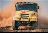 رقابت کامیونها در رالی داکار 2021