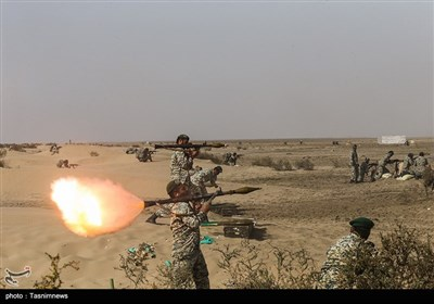 عملیات تاخت تیپ 223 نیرو مخصوص نزاجا در نوار ساحلی مکران