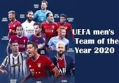 اعلام تیم منتخب یوفا در سال 2020 + عکس