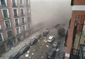 انفجار در مادرید