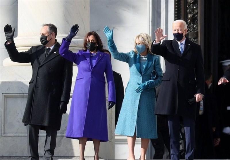 مراسم تحلیف ریاست جمهوری آمریکا/ جو بایدن سوگند یاد کرد؛ باید با تروریسم داخلی مبارزه کنیم+فیلم,