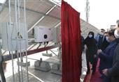 بهره برداری از اولین نیروگاه خورشیدی منطقه 19 شهر تهران