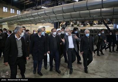 بازدید وزیر صمت از پروژه های صنعتی در قم