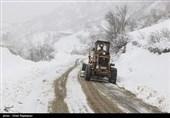 کولاک برف و برودت شدید هوا در جادههای برخی استانها/ مردم از سفرهای غیرضروری خودداری کنند/هیچ محور مواصلاتی کشور مسدود نیست