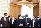 آیت الله رئیسی دستور آزادسازی کاروانسرای تاریخی سمنان و تبدیل آن به مرکز فرهنگی شهر را صادر کرد + فیلم