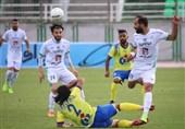 لیگ برتر فوتبال| پیروزی ذوبآهن برابر ماشینسازی در نیمه اول