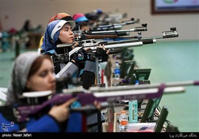هفته سوم و چهارم لیگ برتر تفنگ بادی بانوان