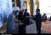 تجلیل از گروههای جهادی مستقر در بیمارستان بزرگ دزفول به روایت تصاویر