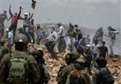 کرانه باختری|زخمی شدن دهها فلسطینی در حمله نظامیان صهیونیست به قلقیلیه