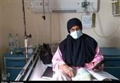 تدریس روی تخت بیمارستان / معلم هرمزگانی درس ایثار میدهد