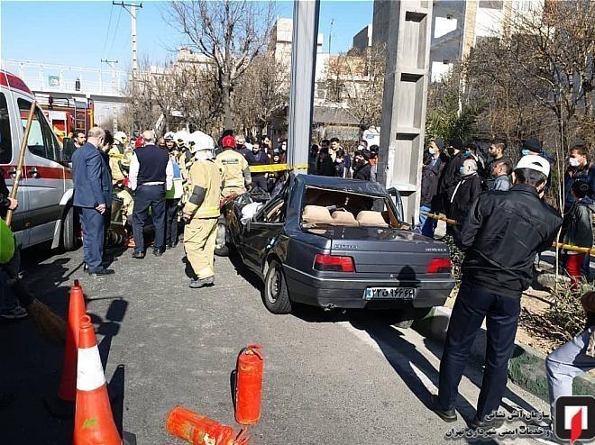 آتشنشانی , سازمان آتشنشانی تهران , پلیس راهور   پلیس راهنمایی و رانندگی , اورژانس ,
