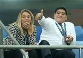 جنگ همسران سابق مارادونا بر سر کارتهای اعتباری اسطوره آلبیسلسته!