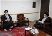 دیدار وزیر اطلاعات با رئیس شورای عالی جامعه مدرسین/تمجید آیتالله حسینیبوشهری از تلاشهای ایثارگرانه سربازان گمنام امام زمان (عج)
