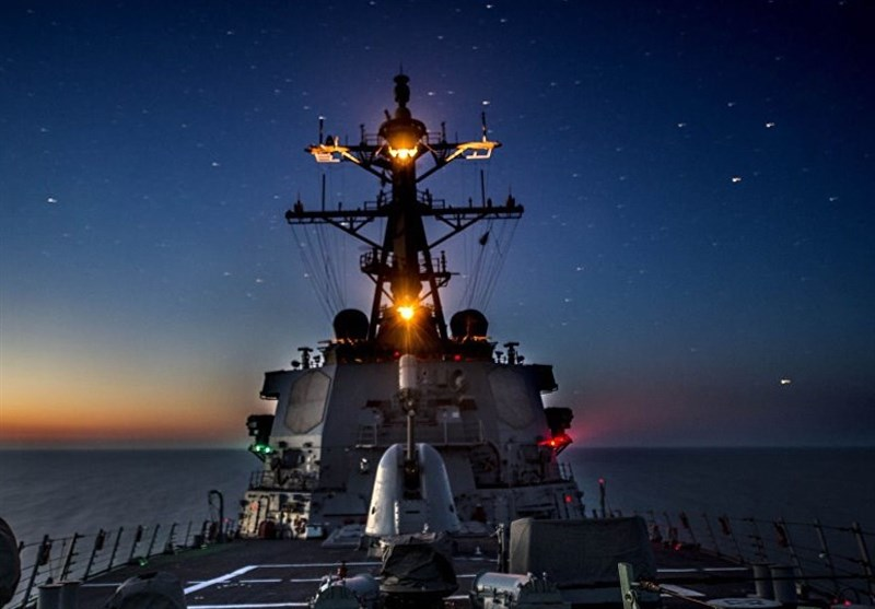 ورود ناو آمریکایی مجهز به موشک کروز به دریای سیاه