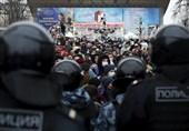بازداشت 600 نفر در اعتراضات غیرمجاز پایتخت روسیه/ هشدار به دیپلماتهای آمریکایی