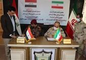 دیدار فرماندهان منطقهای مرزبانی ایران و عراق / امضای تفاهمنامه ارتقای نظم و امنیت در مرزها