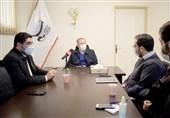 مدیرکل بیمه سلامت آذربایجان شرقی از دفتر خبرگزاری تسنیم آذربایجان شرقی بازدید کرد + تصاویر